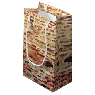 Bolsa De Regalo Pequeña Modelo de la pared de ladrillo