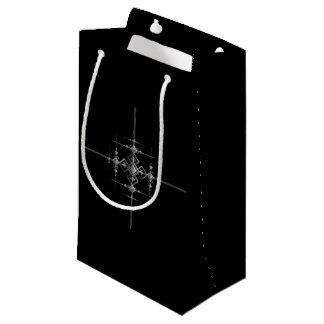 Bolsa De Regalo Pequeña Modelo metálico gótico