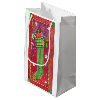 Bolsa De Regalo Pequeña Navidad que almacena el bolso del regalo