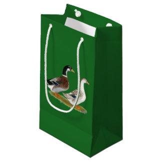 Bolsa De Regalo Pequeña Patos:  Appleyard de plata