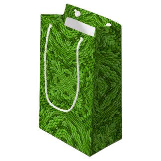 Bolsa De Regalo Pequeña Pequeño bolso del regalo del caleidoscopio verde