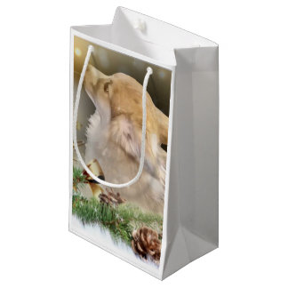 Bolsa De Regalo Pequeña Perrito del Corgi Galés del día de fiesta
