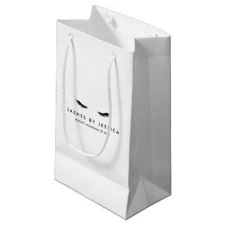 Bolsa De Regalo Pequeña Pestañas atractivas blancos y negros