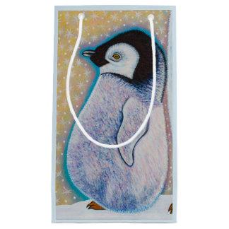 Bolsa De Regalo Pequeña Pingüino del bebé