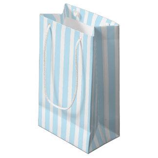 Bolsa De Regalo Pequeña Rayas azules y blancas en colores pastel