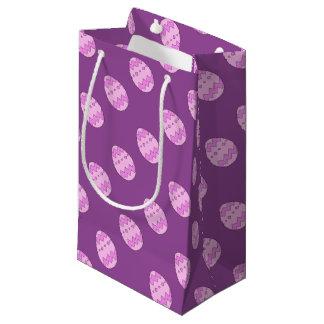 Bolsa De Regalo Pequeña Rosa del huevo de Pascua