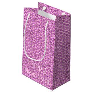 Bolsa De Regalo Pequeña Rubíes y bolso caleidoscópico del regalo de las