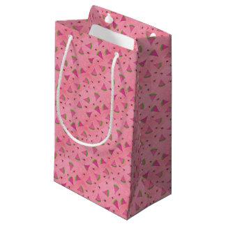 Bolsa De Regalo Pequeña Sandía y señora rosadas Bugs