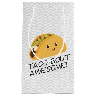 Bolsa De Regalo Pequeña Taco-combate lindo del Taco de Kawaii