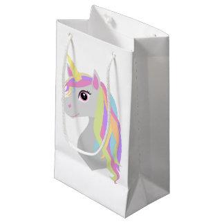Bolsa De Regalo Pequeña Unicornio del arco iris