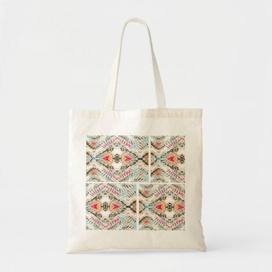 bolsa de tela estampado ethnic-moderno