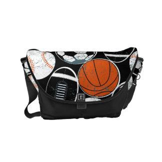 Bolsa Messenger Bolas del deporte de equipo
