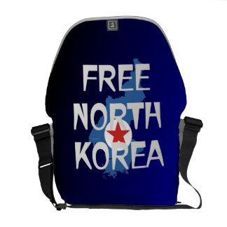 Bolsa Messenger CAMISETA Corea del Norte libre