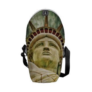 Bolsa Messenger estatua de la libertad