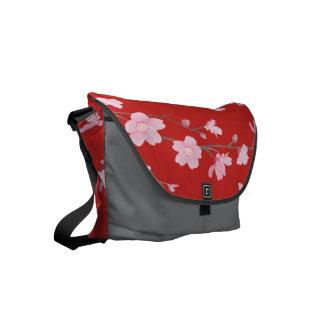 Bolsa Messenger Flor de cerezo