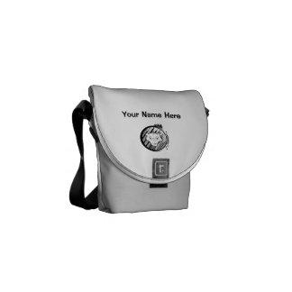 Bolsa Messenger Impresión exterior de la mini bolsa de mensajero