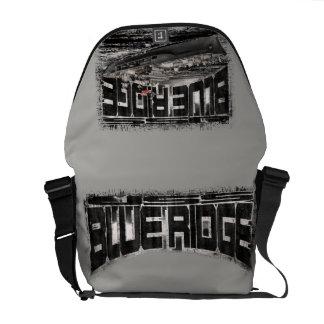Bolsa Messenger La bolsa de mensajero azul del carrito de Ridge de