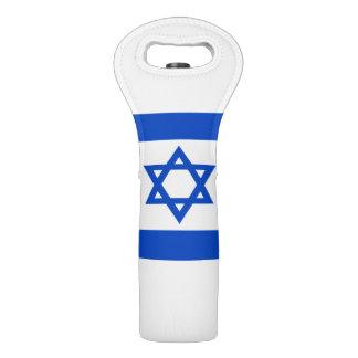 Bolsa Para Vino Bandera del estado de Israel
