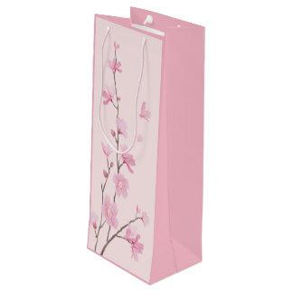 Bolsa Para Vino Flor de cerezo - rosa
