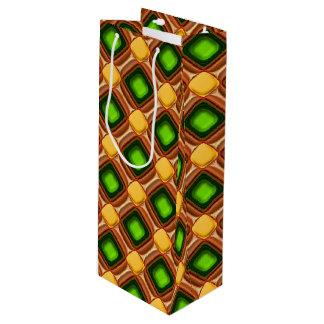 Bolsa Para Vino Modelo amarillo de la gema