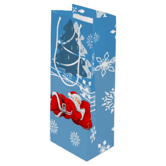 Bolsa Para Vino Navidad