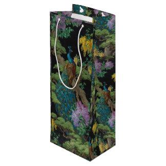 Bolsa Para Vino Papel pintado 1910 del vintage el árbol de cedro