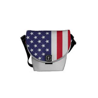 Bolsas De Mensajeria Bandera nacional de los Estados Unidos de América