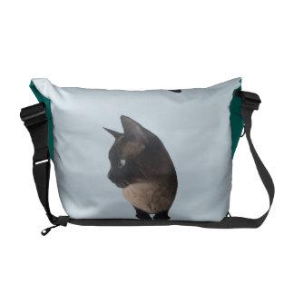 Bolsas De Mensajeria BOLSO del CAT (mochila del gato siamés)