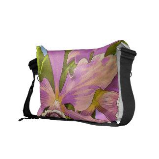 Bolsas De Mensajeria Estallido de la orquídea