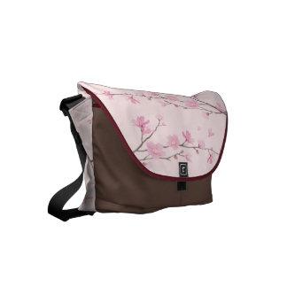 Bolsas De Mensajería Flor de cerezo - rosa
