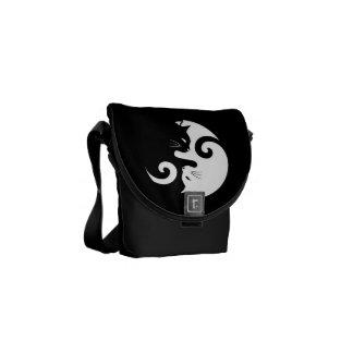 Bolsas De Mensajería Gatitos de Yin Yang