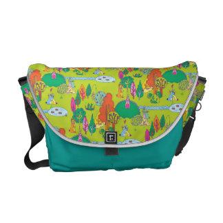 Bolsas De Mensajeria La bolsa de mensajero de Bunnyland para los niños
