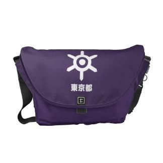 Bolsas De Mensajeria La bolsa de mensajero de Tokio Kamon