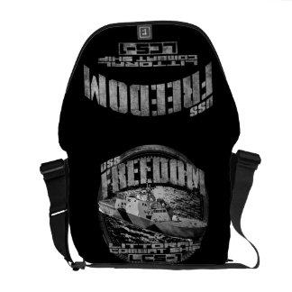 Bolsas De Mensajeria La bolsa de mensajero del carrito de la libertad