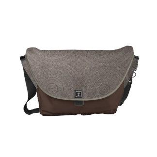 Bolsas De Mensajeria La bolsa de mensajero del diseño de la arcilla y