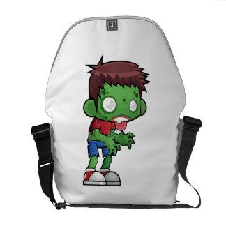 Bolsas De Mensajeria La bolsa de mensajero del tipo del zombi