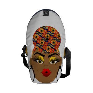 Bolsas De Mensajería La bolsa de mensajero urbana de la reina de