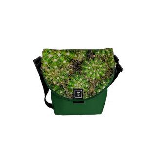 Bolsas De Mensajeria La mini bolsa de mensajero de los cactus