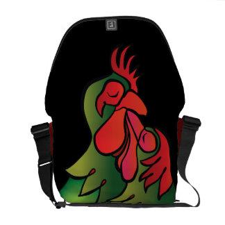 Bolsas De Mensajería Pollos cariñosos, el regalo de Valentin práctico,
