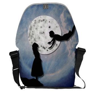 Bolsas De Mensajeria vuéleme al universo del corte del papel de la luna