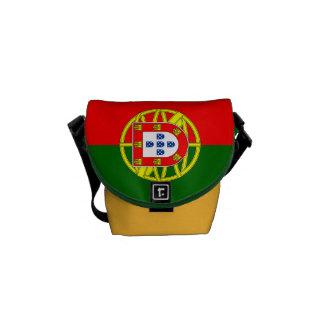Bolsas Messenger Bandera nacional de Portugal
