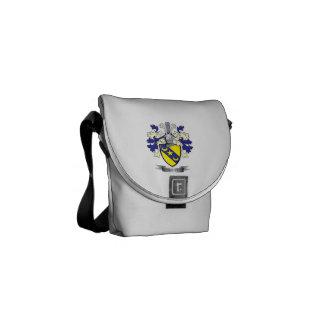 Bolsas Messenger Escudo de armas del escudo de la familia de Scott