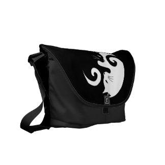 Bolsas Messenger Gatitos de Yin Yang