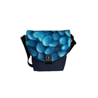 Bolsas Messenger Habas de jalea azules