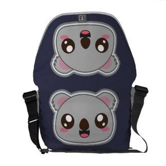 Bolsas Messenger Kawaii, diversión y bolso divertido de la koala