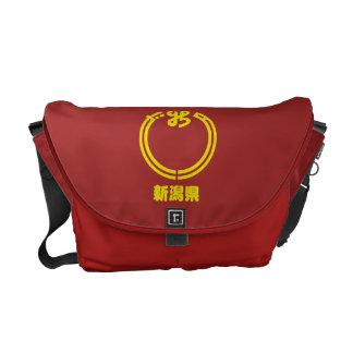 Bolsas Messenger La bolsa de mensajero de Niigata Kamon