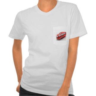 Bolsillo de la píldora camiseta