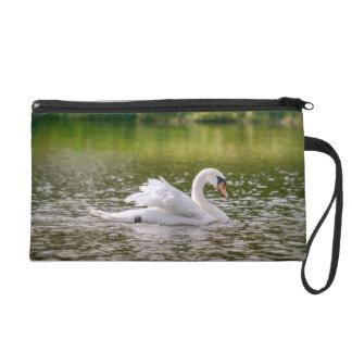 Bolsito De Fiesta Cisne blanco en un lago
