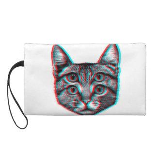 Bolsito De Fiesta Gato 3d, 3d gato, gato blanco y negro