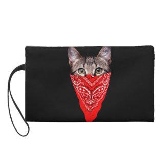 Bolsito De Fiesta gato del gángster - gato del pañuelo - cuadrilla